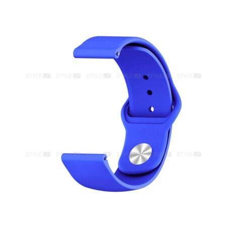 خرید بند سیلیکونی ساعت شیائومی Amazfit Stratos 3 مدل دکمه ای