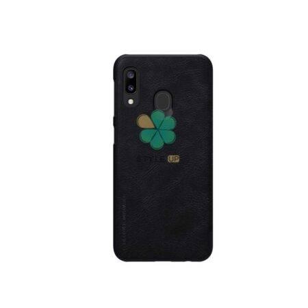 خرید کیف چرمی نیلکین گوشی سامسونگ Samsung Galaxy A20e مدل Qin