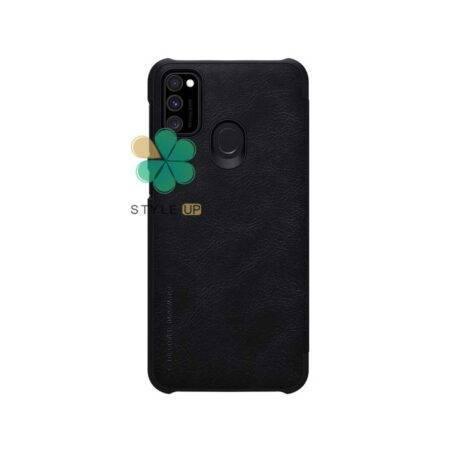 خرید کیف چرمی نیلکین گوشی سامسونگ Samsung Galaxy M21 مدل Qin