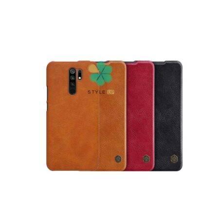 خرید کیف چرمی نیلکین گوشی شیائومی Xiaomi Redmi 9 مدل Qin