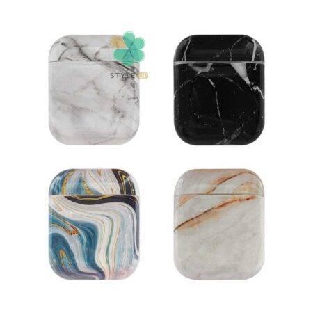خرید کاور محافظ هندزفری اپل ایرپاد Apple Airpods طرح سنگ