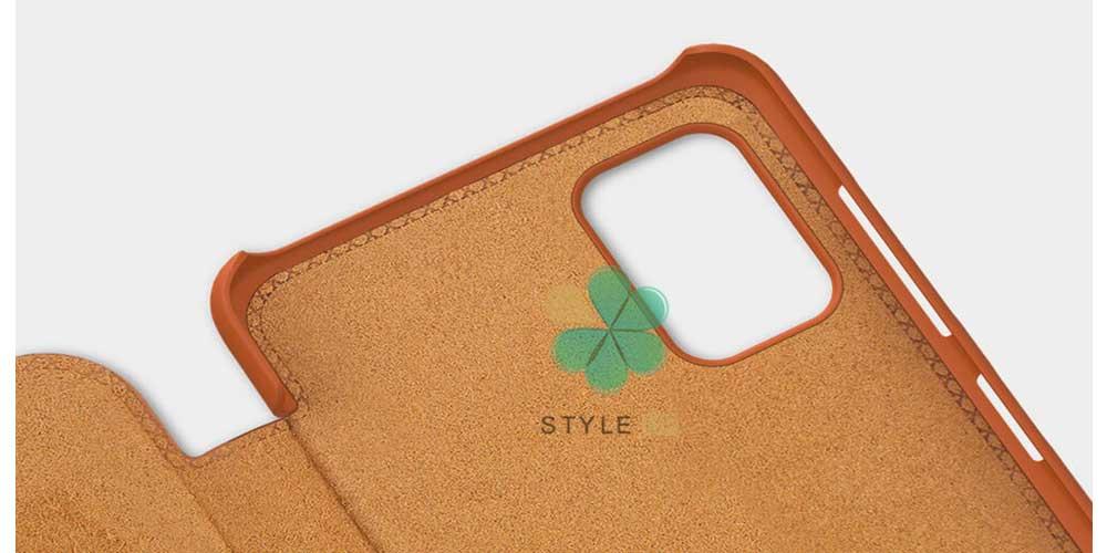 خرید کیف چرمی نیلکین گوشی سامسونگ Samsung Galaxy A31 مدل Qin