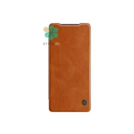 خرید کیف چرمی نیلکین گوشی سامسونگ Galaxy Note 20 Ultra مدل Qin
