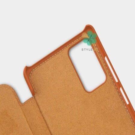 عکس کیف چرمی نیلکین گوشی سامسونگ Galaxy Note 20 Ultra مدل Qin