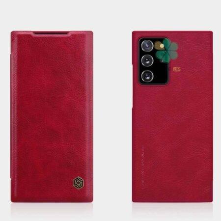 خرید خرید کیف چرمی نیلکین گوشی سامسونگ Galaxy Note 20 Ultra مدل Qin