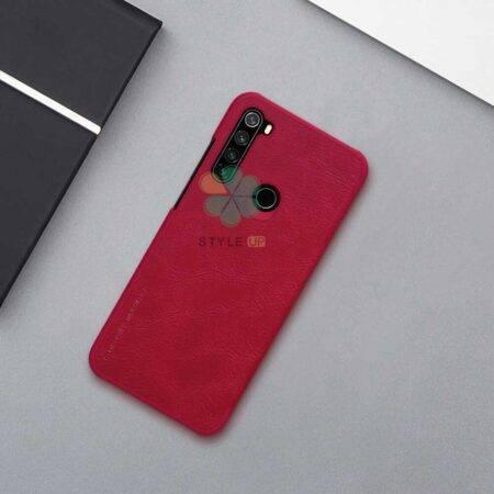 تصویر کیف چرمی نیلکین گوشی شیائومی Redmi Note 8T مدل Qin