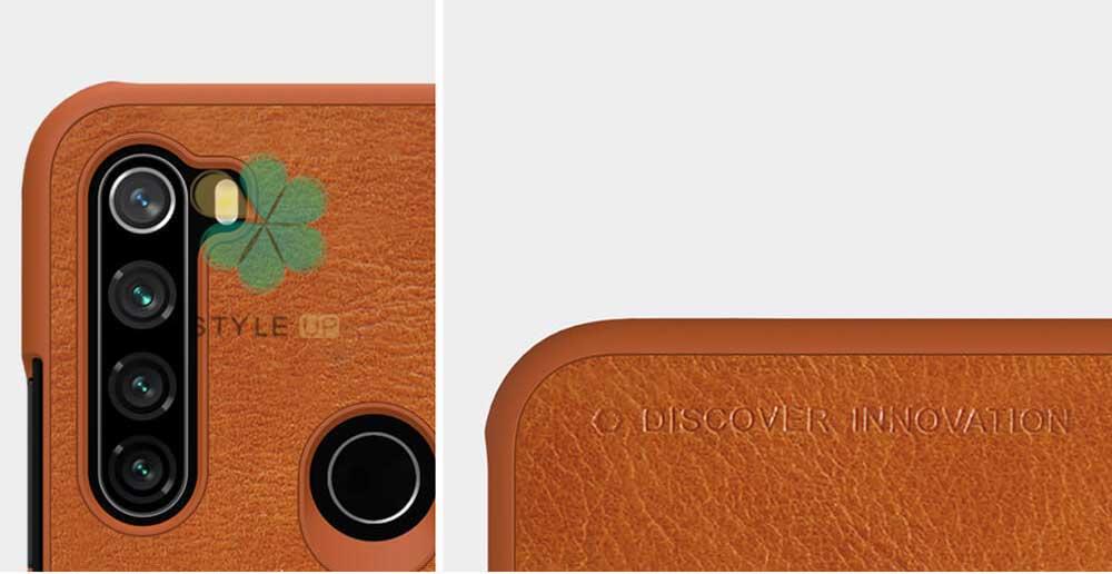 عکس کیف چرمی نیلکین گوشی شیائومی Redmi Note 8T مدل Qin