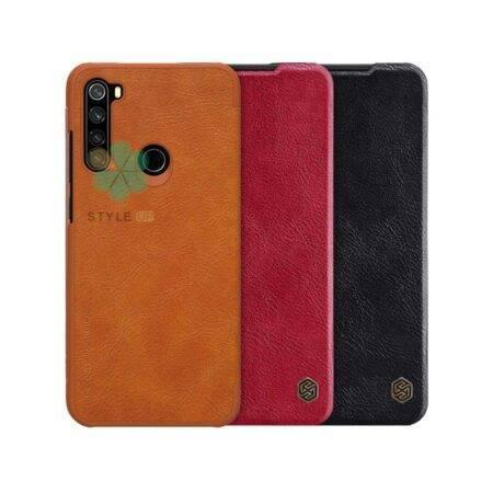 خرید کیف چرمی نیلکین گوشی شیائومی Redmi Note 8T مدل Qin