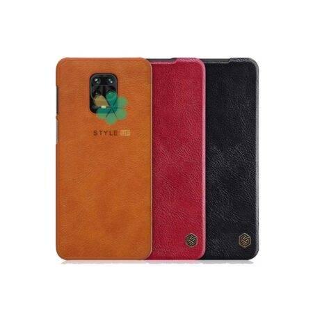 خرید کیف چرمی نیلکین گوشی شیائومی Xiaomi Redmi Note 9 مدل Qin