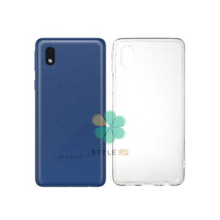 خرید قاب گوشی سامسونگ Samsung Galaxy M01 Core مدل ژله ای شفاف
