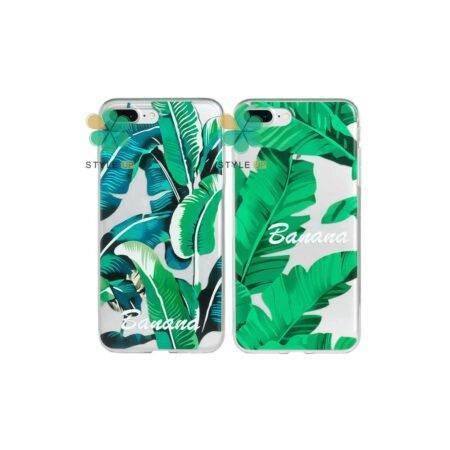 خرید قاب گوشی اپل آیفون Apple iPhone 7 Plus / 8 Plus طرح Banana Leaves
