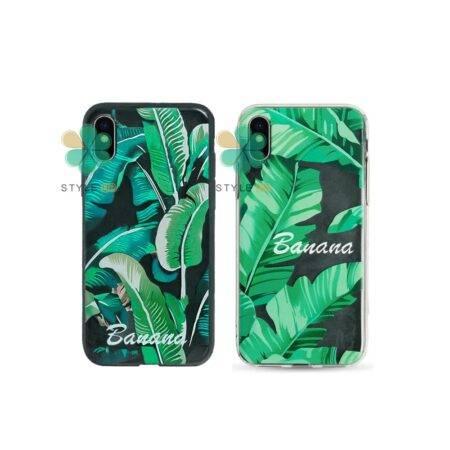 خرید قاب گوشی اپل آیفون Apple iPhone X / XS طرح Banana Leaves