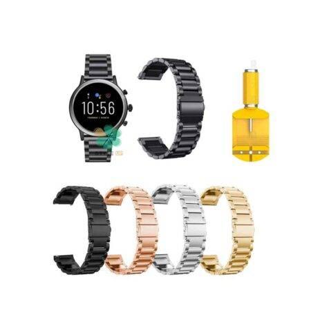 خرید خرید بند ساعت فسیل Fossil Q Explorist Gen 3 استیل 3Pointers