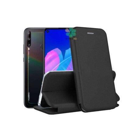 خرید کیف کلاسوری چرمی گوشی هواوی Huawei Y7p