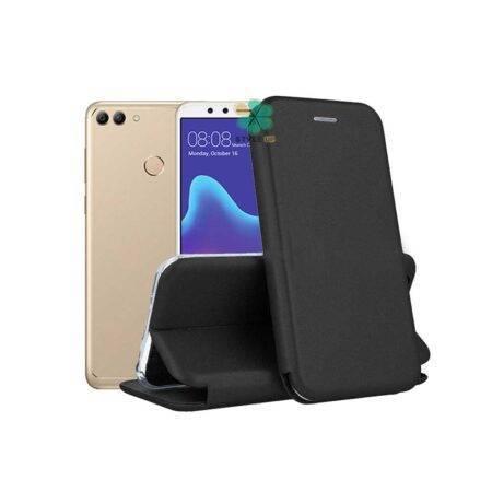 خرید کیف کلاسوری چرمی گوشی هواوی Huawei Y9 2018