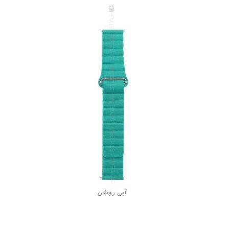 خرید بند چرمی ساعت هواوی Honor MagicWatch 2 46mm مدل Leather Loop