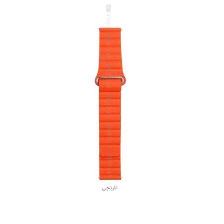 خرید خرید بند چرمی ساعت هواوی Huawei Watch GT 2 Pro مدل Leather Loop