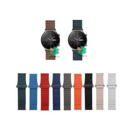 خرید بند چرمی ساعت هواوی Huawei Watch GT 2 Pro مدل Leather Loop