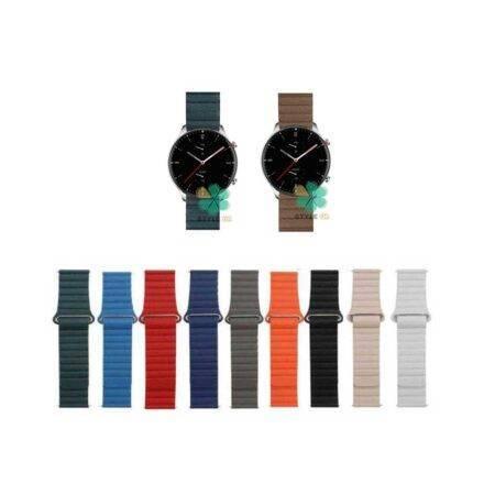 خرید بند چرمی ساعت شیائومی Xiaomi Amazfit GTR 2 مدل Leather Loop