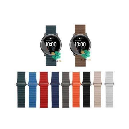 خرید بند چرمی ساعت شیائومی Xiaomi Haylou Solar LS05 مدل Leather Loop
