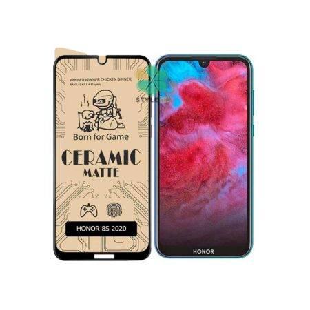 خرید گلس سرامیکی مات گوشی هواوی هانر Huawei Honor 8s 2020