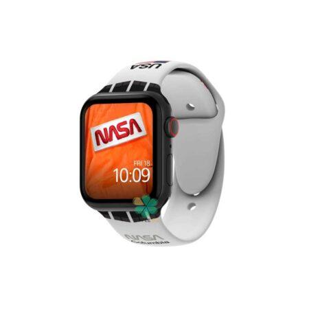 خرید بند سیلیکونی ساعت اپل واچ Apple Watch 38/40mm مدل Nasa