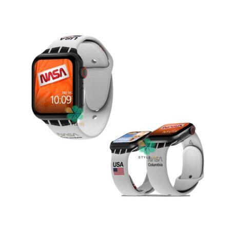 خرید بند سیلیکونی ساعت اپل واچ Apple Watch 42/44mm مدل Nasa