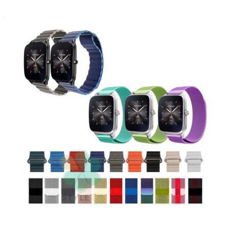 خرید کالکشن بند میلانس و چرمی مگنتی ZenWatch 2 WI501Q