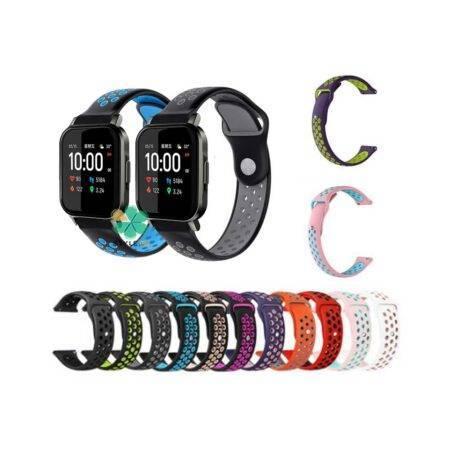 خرید بند ساعت شیائومی Xiaomi Haylou LS02 سیلیکونی نایکی