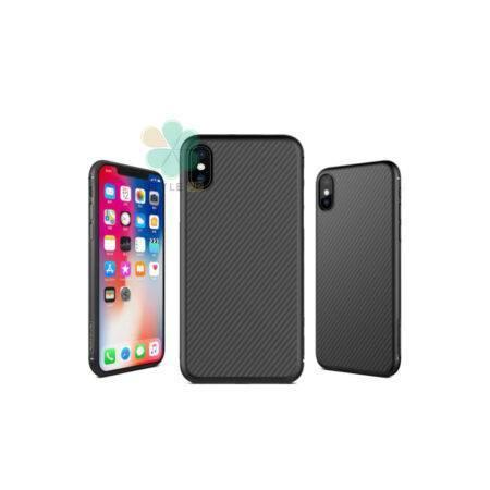 خرید قاب نیلکین گوشی اپل Apple iPhone XS مدل Synthetic Fiber