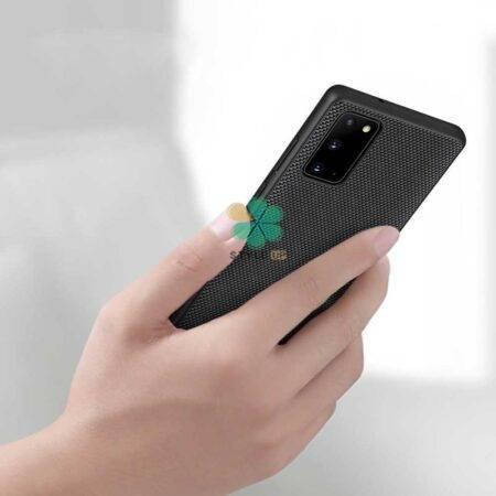 عکس قاب نیلکین گوشی سامسونگ Samsung Galaxy Note 20 مدل Textured Nylon