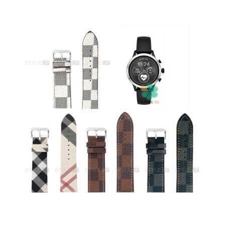 خرید بند ساعت فسیل Fossil Q Explorist Gen 3 طرح لویی ویتون