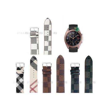خرید بند ساعت سامسونگ Samsung Galaxy Watch 3 41mm طرح لویی ویتون