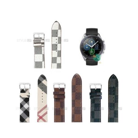 خرید بند ساعت سامسونگ Samsung Galaxy Watch 3 45mm طرح لویی ویتون