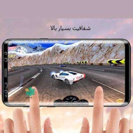 عکس محافظ صفحه گلس گوشی سامسونگ Galaxy Note 9 مدل Polymer nano