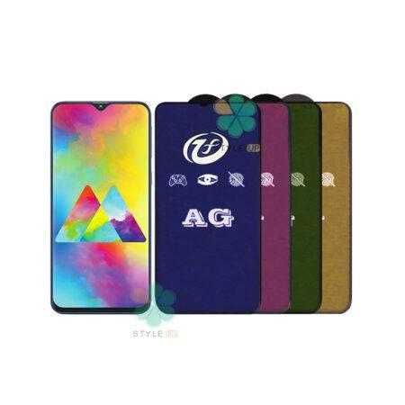 خرید گلس مات گوشی سامسونگ Samsung Galaxy M20 مدل Rainbow