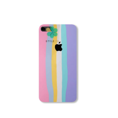 خرید قاب سیلیکونی گوشی اپل آیفون iPhone 6 / 6s مدل رنگین کمان