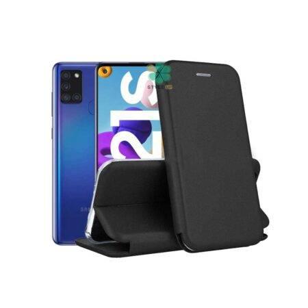 خرید کیف کلاسوری چرمی گوشی سامسونگ Samsung Galaxy A21s