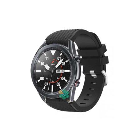 خرید بند اورجینال ساعت سامسونگ Galaxy Watch 3 45mm مدل Active Silicone