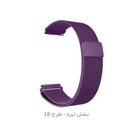 خرید کالکشن بند میلانس و چرمی مگنتی Galaxy Watch 3 45mm