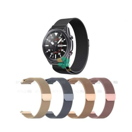 خرید بند ساعت سامسونگ Samsung Galaxy Watch 3 45mm مدل Milanese