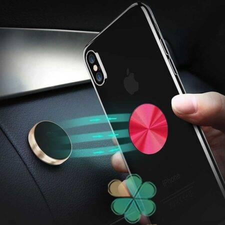 خرید پایه نگهدارنده و پاپ سوکت گوشی موبایل مدل Shiny Metal