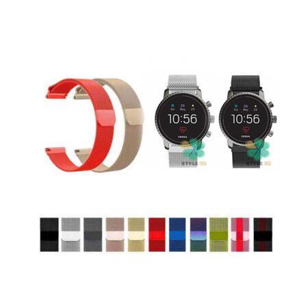 خرید بند استیل ساعت فسیل Fossil Q Explorist Gen 3 مدل New Milanese