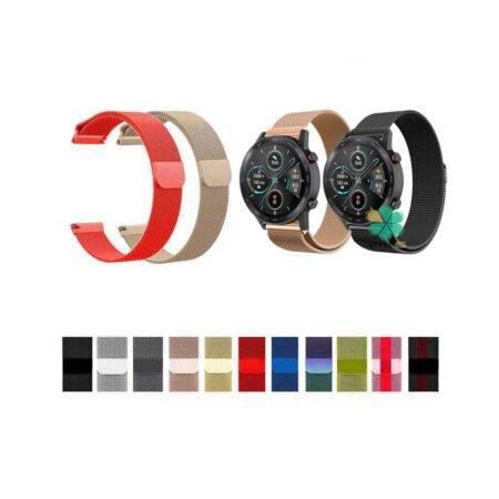 خرید بند استیل ساعت هواوی Honor MagicWatch 2 46mm مدل New Milanese
