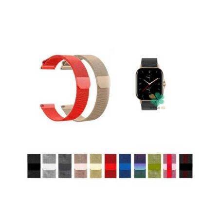 خرید بند استیل ساعت شیائومی Amazfit GTS 2 مدل New Milanese