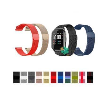 خرید بند استیل ساعت شیائومی Xiaomi Haylou LS02 مدل New Milanese