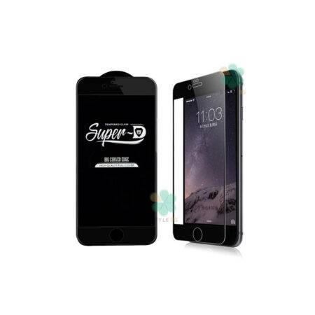 خرید گلس گوشی آیفون iPhone 6 Plus / 6s Plus تمام صفحه Super D