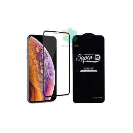 خرید گلس گوشی اپل آیفون Apple iPhone XR تمام صفحه Super D
