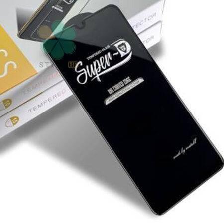 عکس گلس گوشی سامسونگ Samsung Galaxy M30s تمام صفحه Super D
