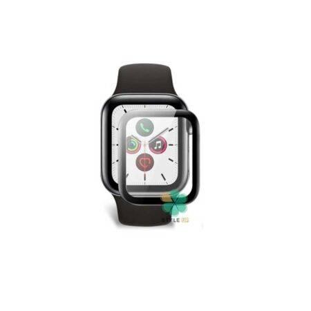 خرید محافظ صفحه گلس ساعت اپل واچ Apple Watch 40mm مدل دور ژله ای